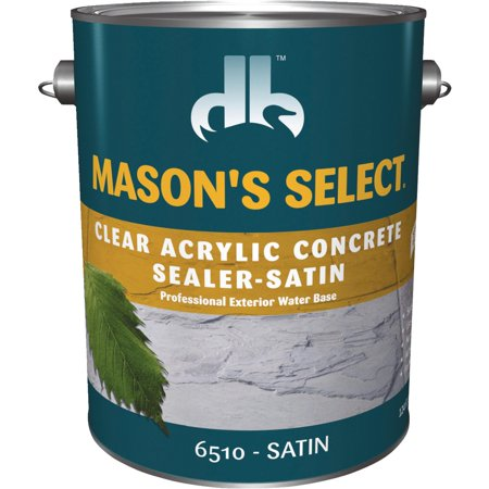 1-Gallon Clear Satin Concrete Sealer - Pack of 4