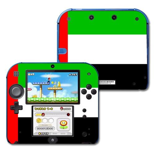 Skin Decal Wrap for Nintendo 2DS sticker United Arab Emirates Flag