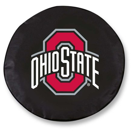(Ohio State Large Tire Cover (Black))