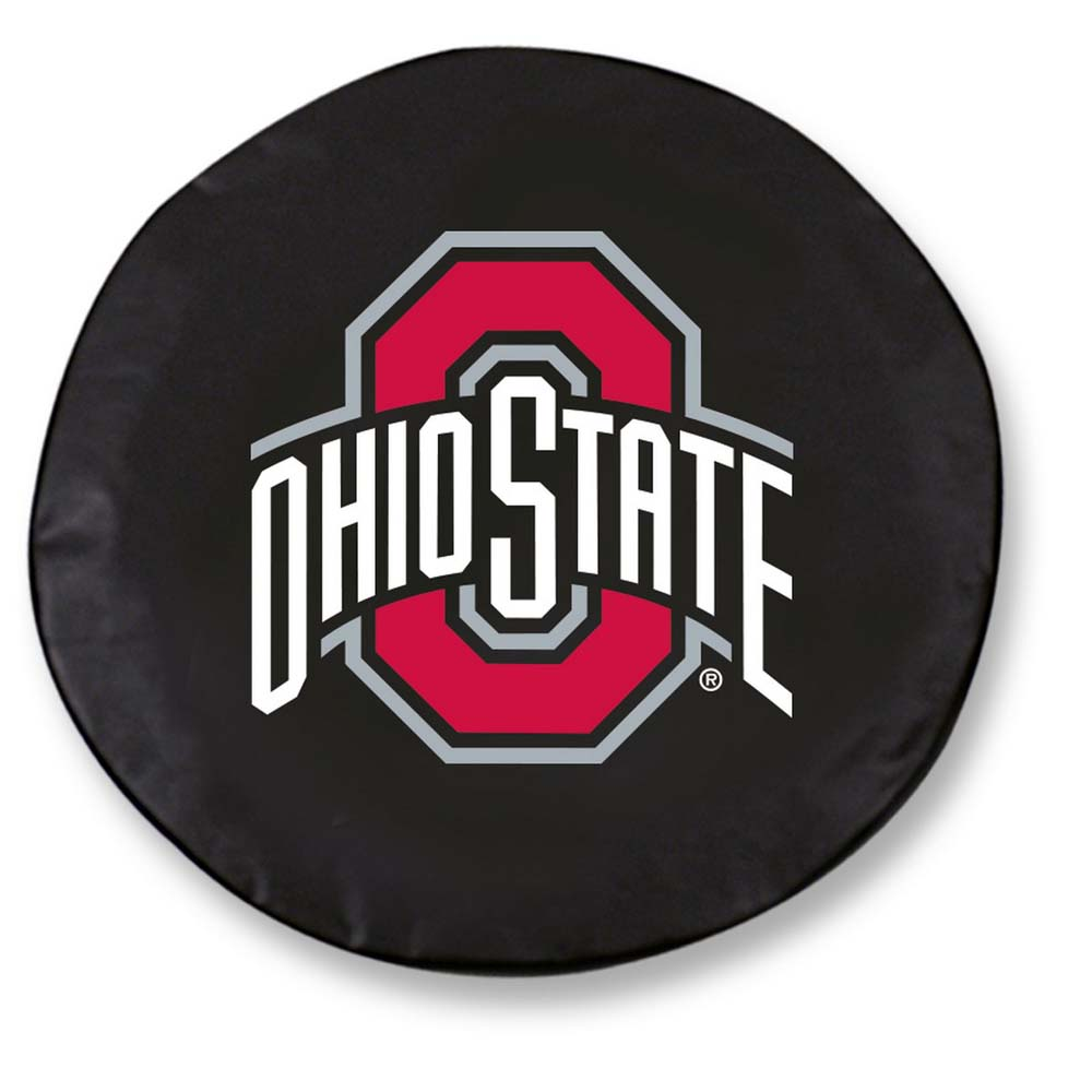 Ohio State Large Tire Cover (Black)