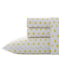 Lemons Yellow Sheet Set, Full