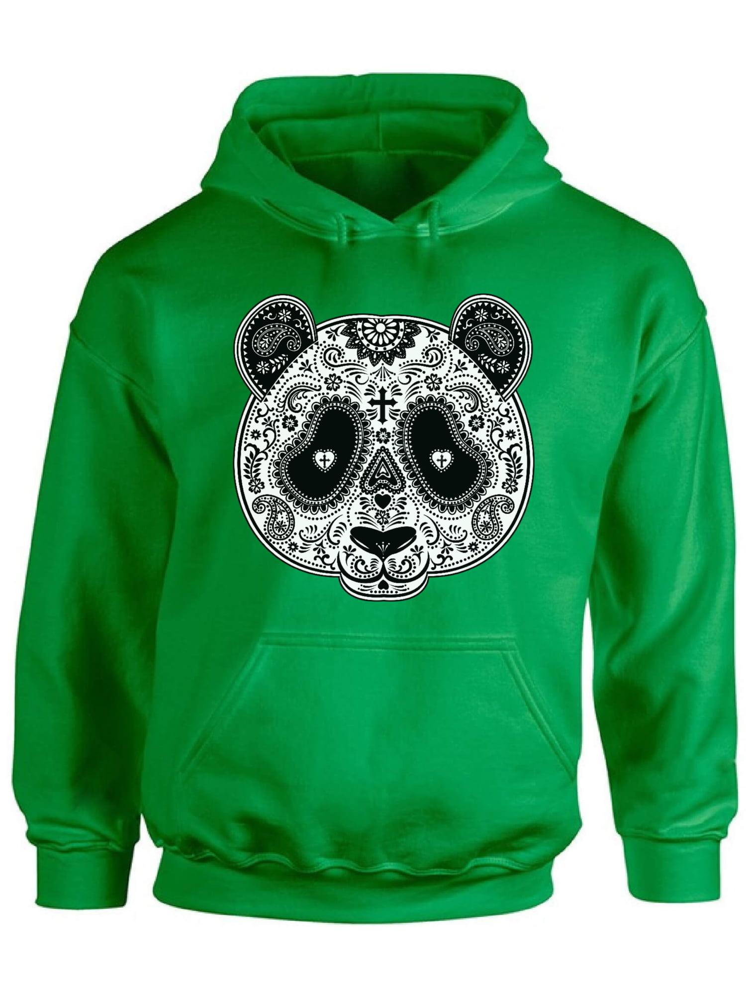 Panda Dia De Los Muertos Mexico Day Of Dead Cross Skull Bear Sugar Men/'s Thermal