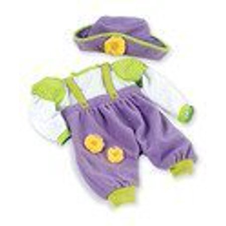 f7b79e7705f Lee Middleton Dainty Daffodils Romper   Hat Outfit for 19
