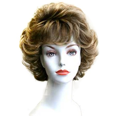 Fashion women short wavy E CLAIR professional wig
