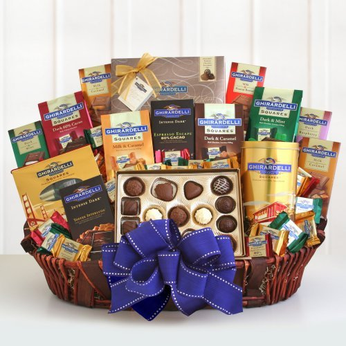 Ghirardelli Deluxe Gift Basket