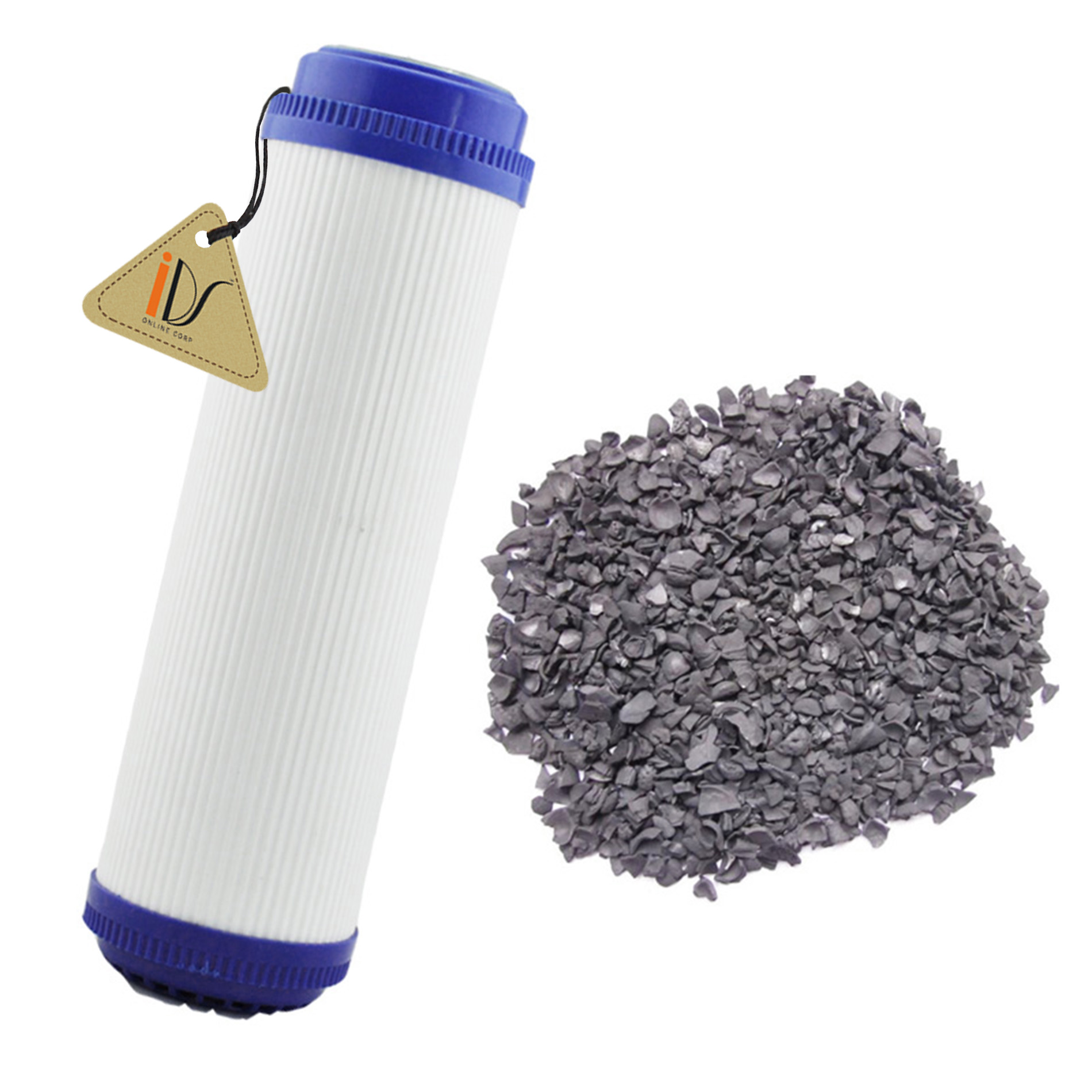 Granular Activated Carbon GAC Water Filter Cartridge for RO Reverse Osmosis, 10 inch