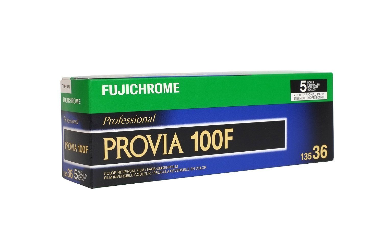 20 Rolls Fuji FujiChrome Provia RDP 100F 135-36 Color Slide Film 4 2018 by Fujifilm