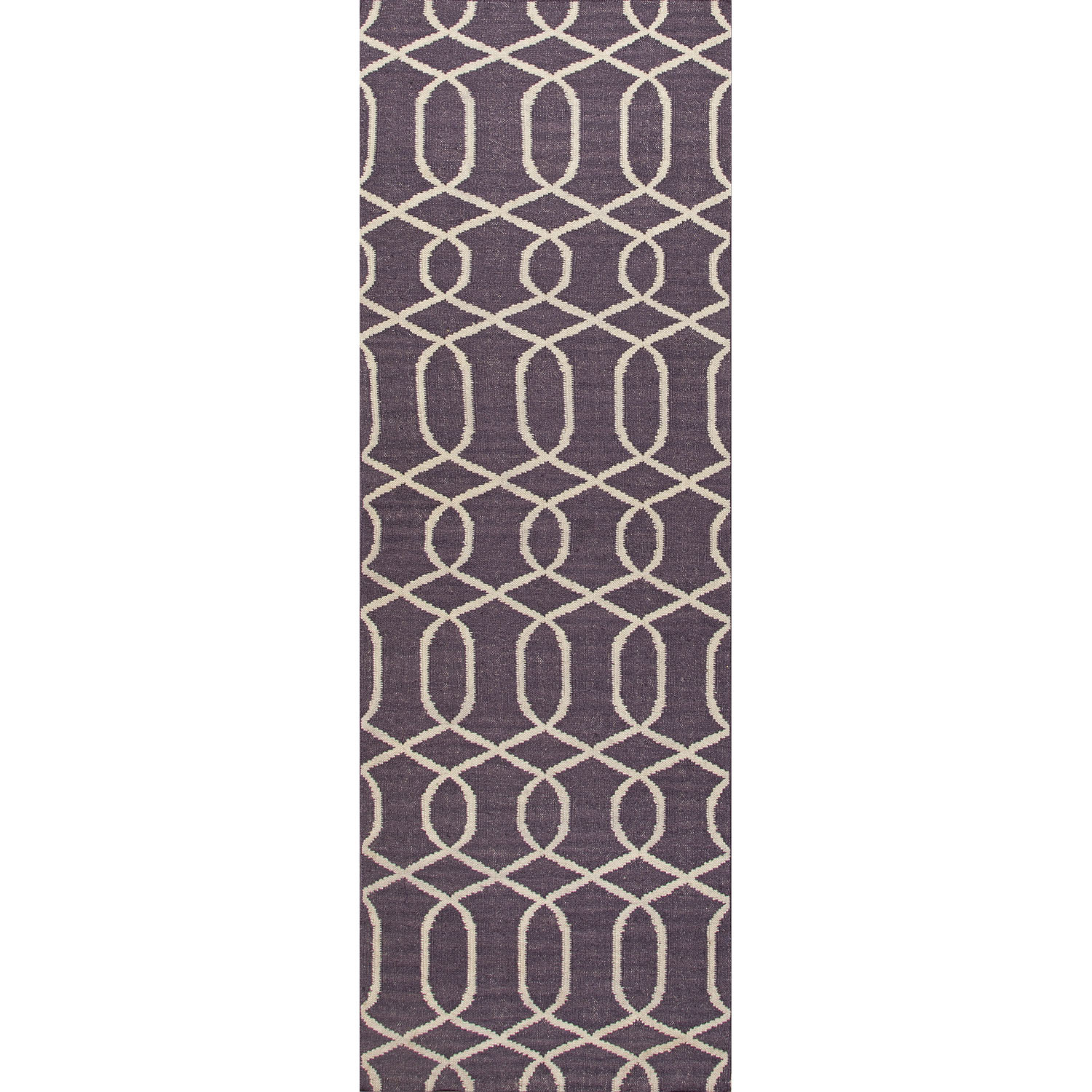Wildon Home  Arebela Hand-Woven Continental Plum Area Rug