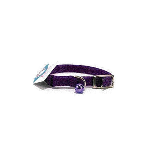 Hamilton Pet Products Braided Safety Cat Collar in Purple