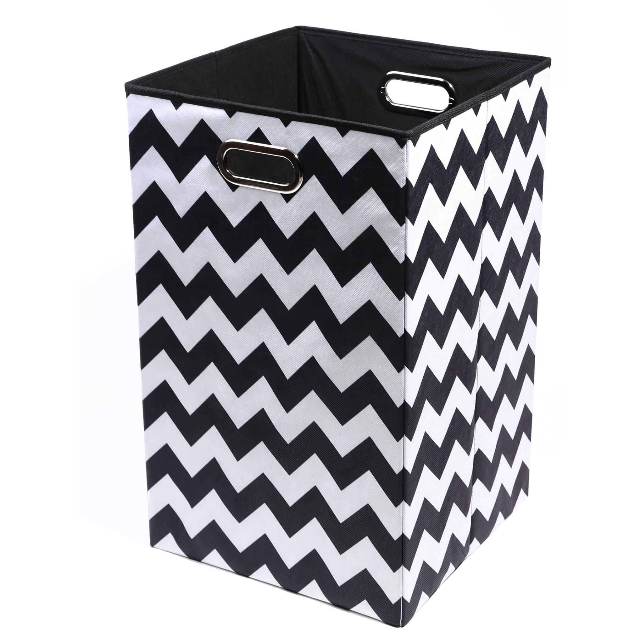 Modern Littles Bold Folding Laundry Basket (Choose Your Pattern)