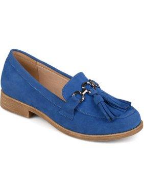Brinley Co. Tassel Faux Suede Loafers (Women's)