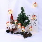 Tailored Iron Lights 2M String Lights 10 LED Outdoor Indoor Christmas Tree Xmas Decor