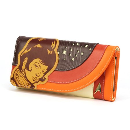 Star Trek: The Original Series Uhura Retro Space Ladies Wallet