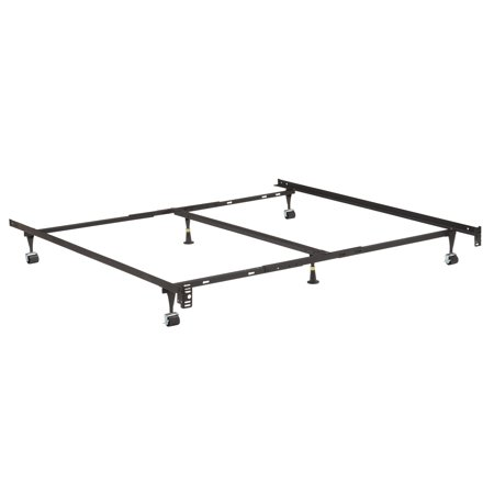 metal adjustable california king king queen full twin universal heavy duty - California Queen Bed Frame