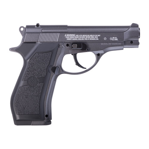 Crosman PFM16 CO2 Powered BB Pistol, Full Metal Compact Design, 177 Cal