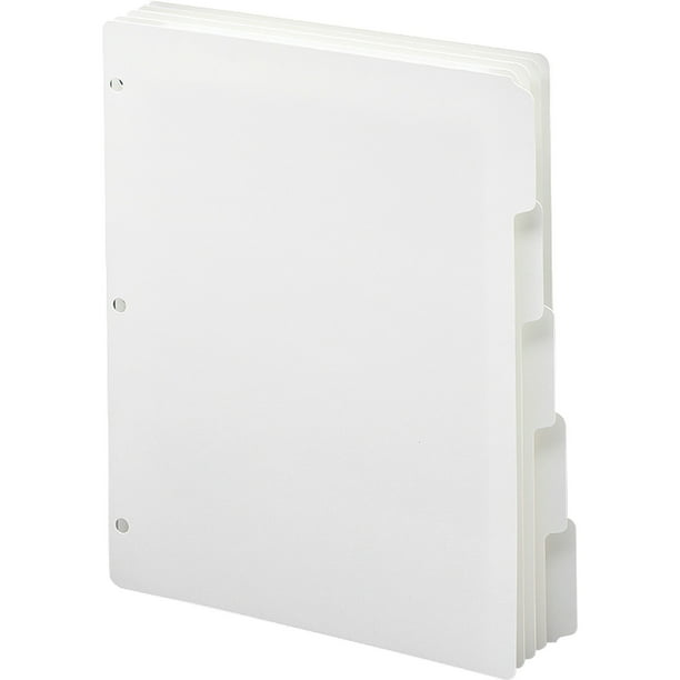 Smead, SMD89415, 3-Ring Binder Index Dividers, 20 / Box