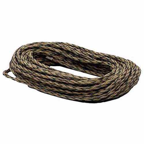 "Lehigh Group CF450W Camouflage Polypropylene Twisted Rope, 1/4"" x 50'"