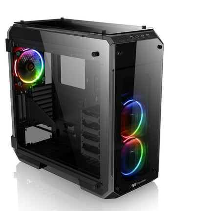 Thermaltake View 71 RGB 4x Temepred Glass Full Tower Large Open Gaming Computer Chassis -