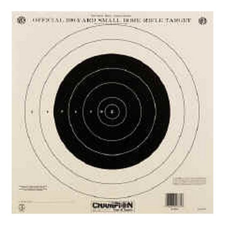 Champion Traps and Targets NRA Paper Target 100Yd Single SKU: 40762 with Elite Tactical Cloth (Halloween Sales Target)