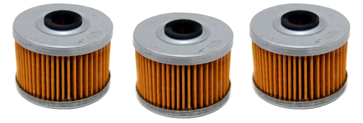 3 Pack Oil Filters Honda Rancher 350 & 420, TRX300EX TRX400EX Foreman 450 500 by Not Branded
