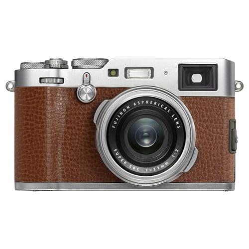 Fujifilm X100F 24.3MP Digital Camera Full HD Wi-Fi Brown