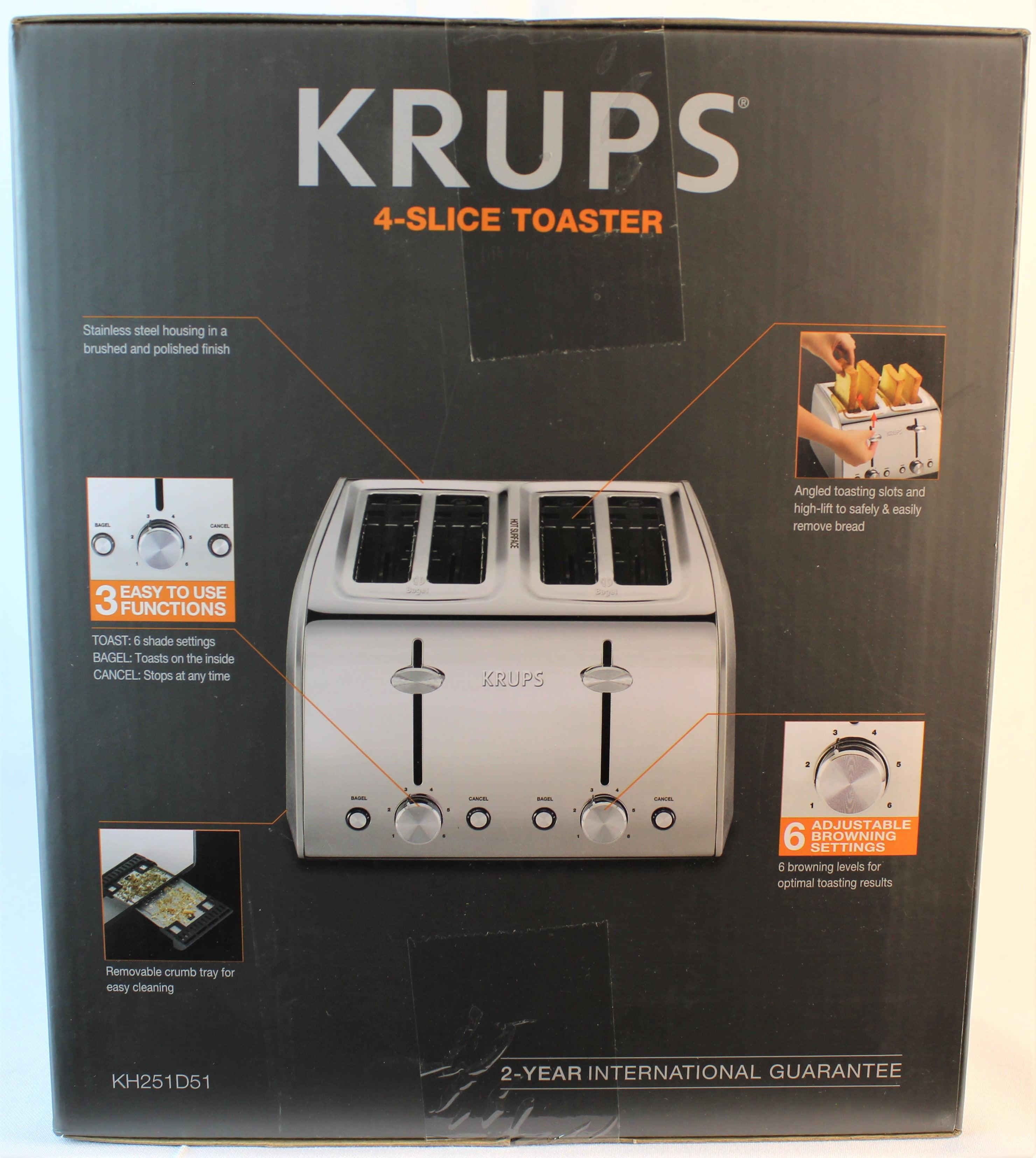 Krups KH251D51 4-Slice Toaster
