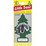 Little Tree Air Freshener, 3pk, Royal Pine