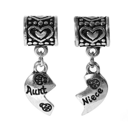 Heart Dangle Phone Charm - Set of 2 Pcs