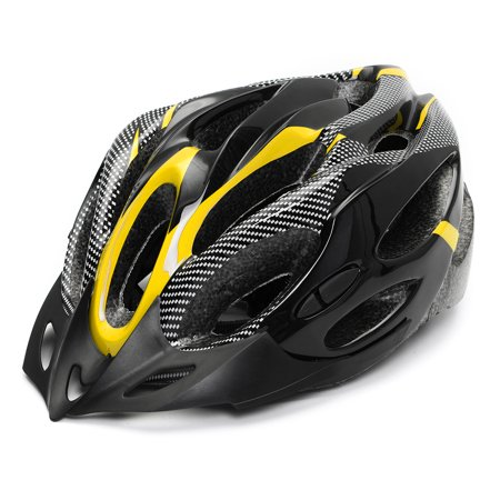 Safety Helmet Adjustable Bicycle Bike Helmet Cycling Road Carbon Visor Mountain for Adult Mens Women outdoorgood Boys