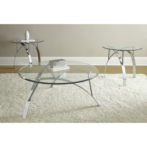 Brady Furniture Industries Justice 3 Piece Coffee Table Set
