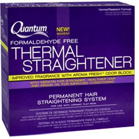 Tangle Free Thermal - Quantum Thermal Straightener Permanent Hair Straightening System (Formaldehyde-Free) ( Normal/Resistant Formula)
