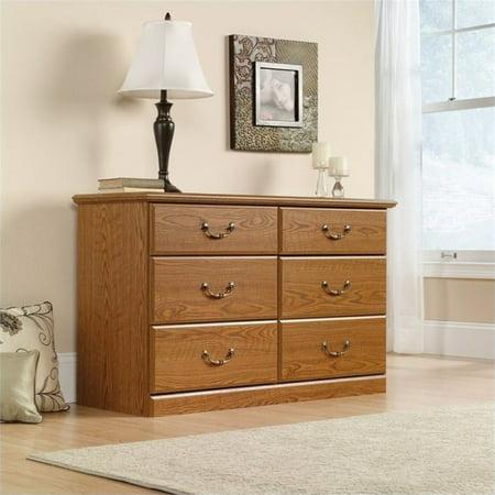 Pemberly Row 6 Drawer Dresser in Carolina Oak (Carolina Pr)