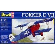 Fokker D Vii Paint And Glue Model Kit