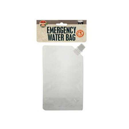 Kole Imports GR206-48 5 lbs, 16.9 oz Emergency Water Bag
