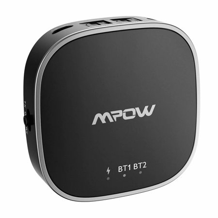 Mpow Bluetooth Transmitter and Receiver,2-in-1 Bluetooth Adapter,Digital  Optical TOSLINK,AUX and RCA connection,support aptX,aptX Low