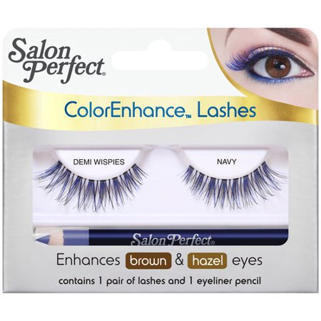 Salon perfect colorenhance lashes demi wispies navy 2 pc for Hair salon perfect first essential