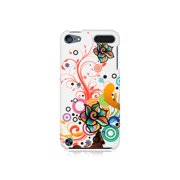 Media Player Accessories Dream Wireless iPod Touch 5, 6 White Autumn Flowers Crystal Rubber Case (Multipack of 6)
