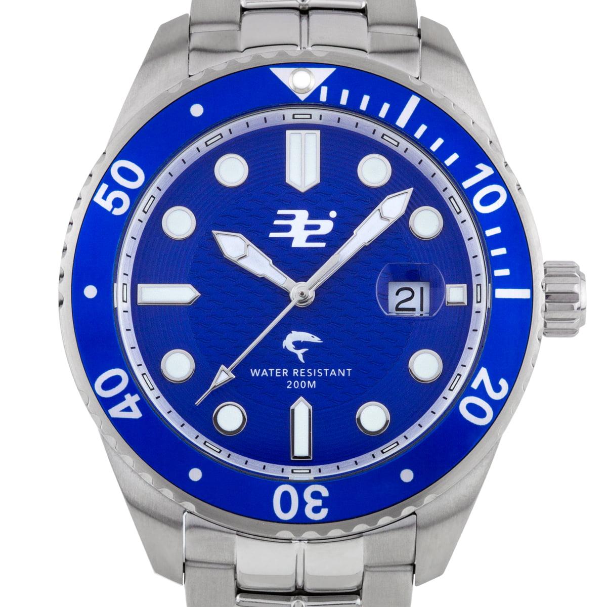 32 Degrees Blacktip Men's Swiss Made Diver Watch