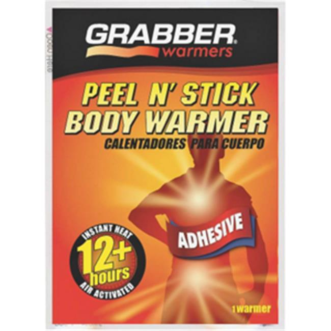 Grabber Performance Gro AWES Body Warmer 12Hour Peel-N-Stick Pack Of 40