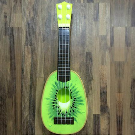 New Amusing Children Learn Guitar Ukulele Mini Fruit Can Play Musical Instruments Toys