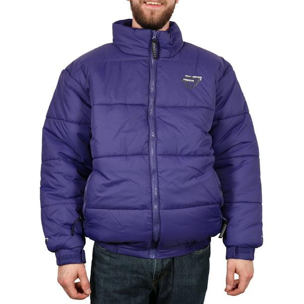 Freeze Defense - Freeze Defense Men's Down Alternative Winter Jacket Coat  (Small - Periwinkle) - Walmart.com - Walmart.com