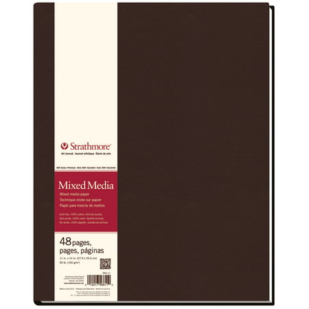Mixed Media Journals - Strathmore Mixed Media Hardbound Art Journal, 500 Series, 11