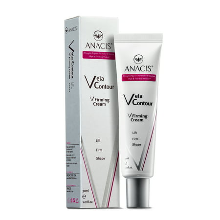 Double Chin Reducer Neck Firming Face Shaping cream. Vela Contour. Anacis. (30ml/1.01oz) ()