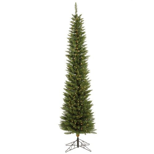 Vickerman Co. Durham Pole Pine 5.5' Artificial Christmas Tree with Clear Lights