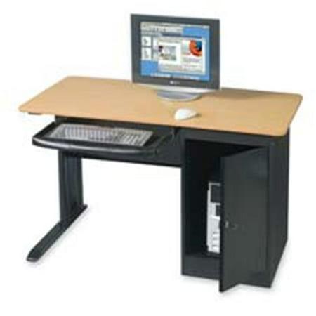Balt- Inc. BLT89843 Locking Computer Workstation- 48in.x24in.x28-.75in.- Teak ()