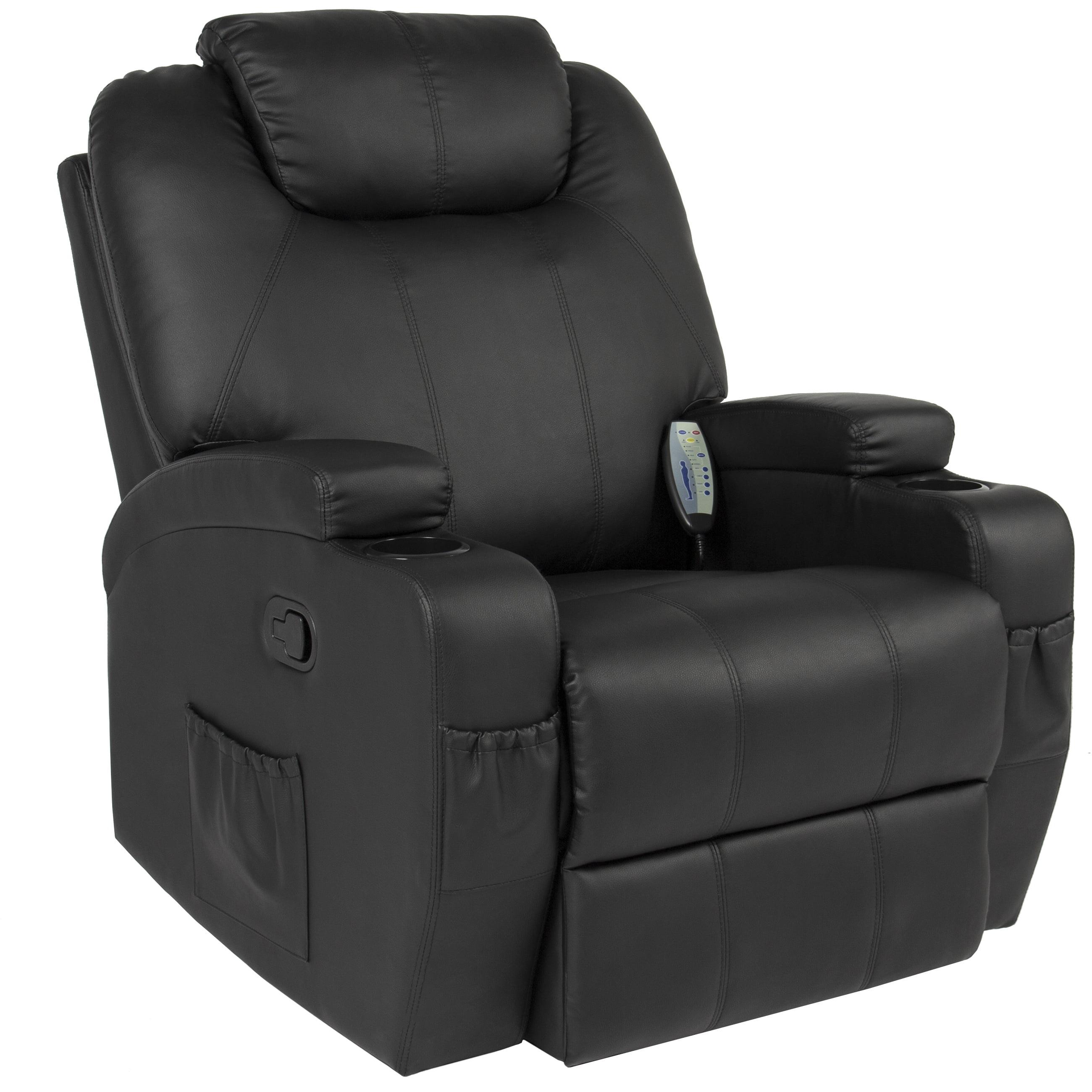 Massage Recliner Sofa Chair Heated W Control Ergonomic Executive