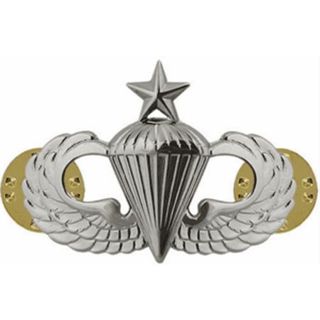 Army Senior Parachute Badge (Mirror Finish)