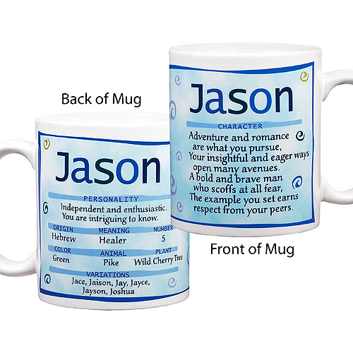 Personalized Name Meaning Mug