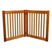 Dynamic Accents 42620 27 in. 2 Panel Free Standing EZ Gate - Artisan Bronze