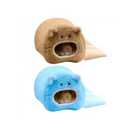 Lavaport Hamster Totoro Cage Winter Warm Bed House Bedroom House Nest for Small Animals